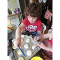 Quin busy baking for VE day