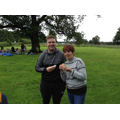 Mr and Mrs Bradley enjoyed their lunch too!