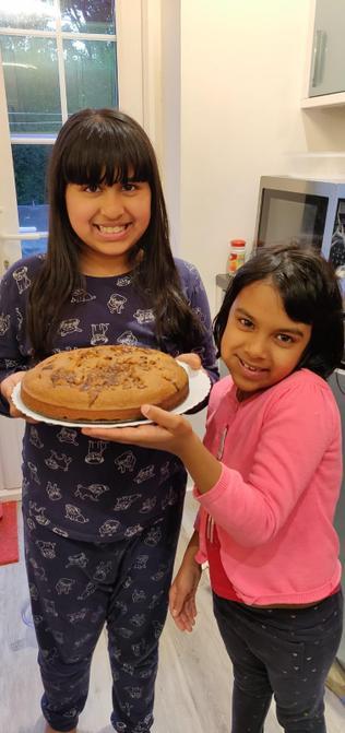 Sharanya's cake