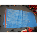 Our class measured using string.
