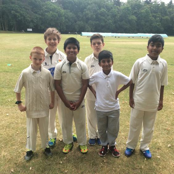 U10 cricket team