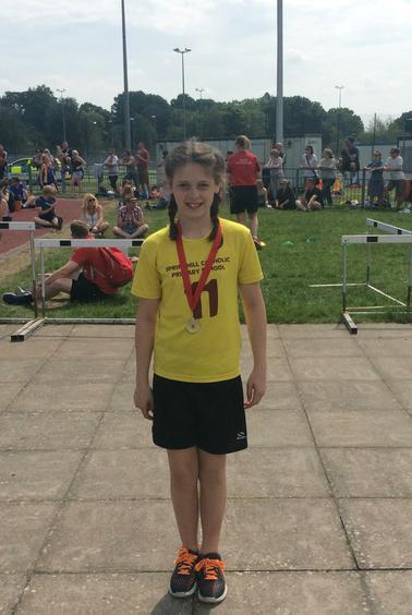 Springhill high jump winner