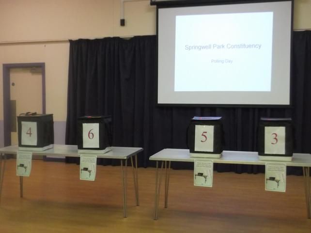 our polling station