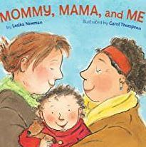 One of the only original board books about gay parents.