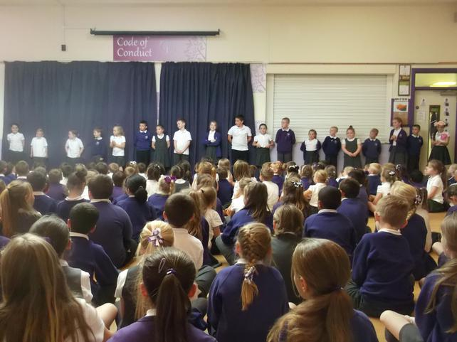All of our school council representatives Y1-Y5