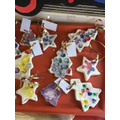 beautiful decorations made by our nursery