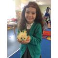 I made a hedgehog