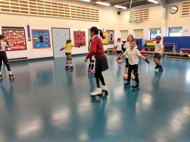 Junior Roller Skating Club