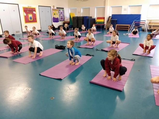 Year 2 yoga