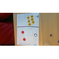 We can use the counter method to show our knowledge of place value.