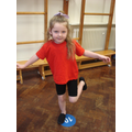 What amazing balance in Reception!