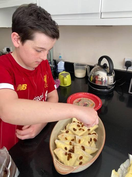 Kieran's Bread and Butter Pudding - Delicious