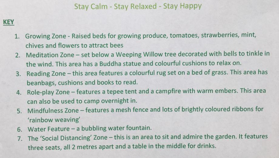 Phoebe's Stay Calm,Stay Relaxed,Stay Happy Garden
