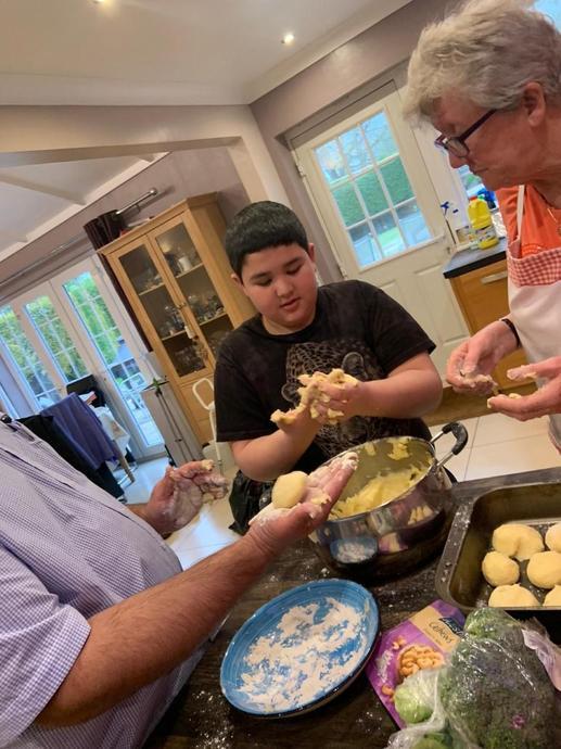 Joel's Cheese and Potato Dumplings