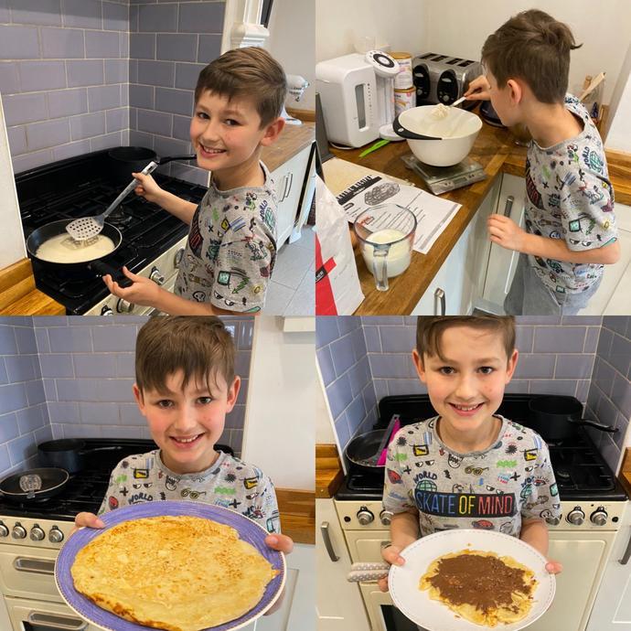 Leighton's Pancakes - delicious