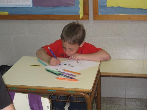 Rubén in class