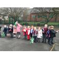 Our palm leaf parade!