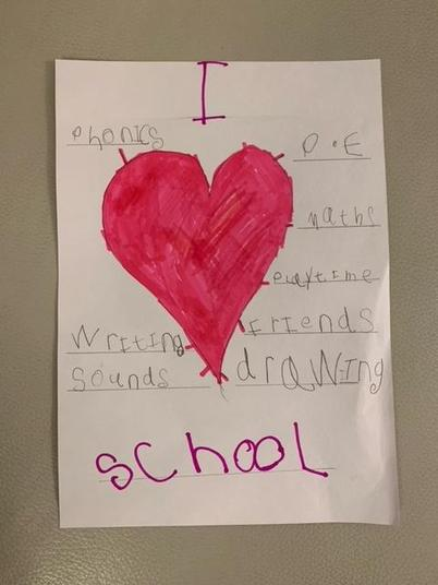 Wow! We really do love all the things we do at school.