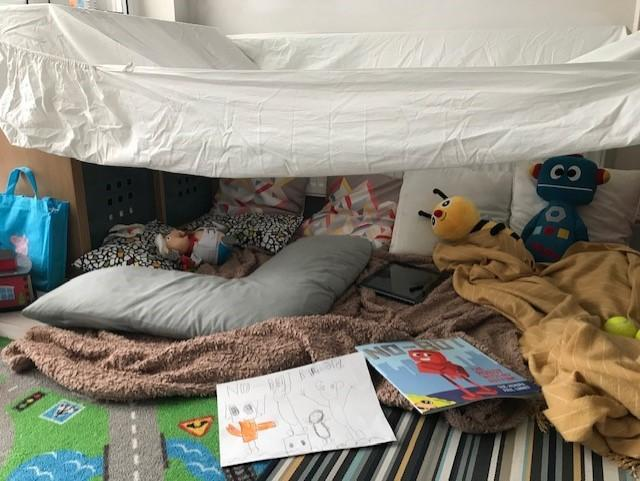 And another terrific reading den.