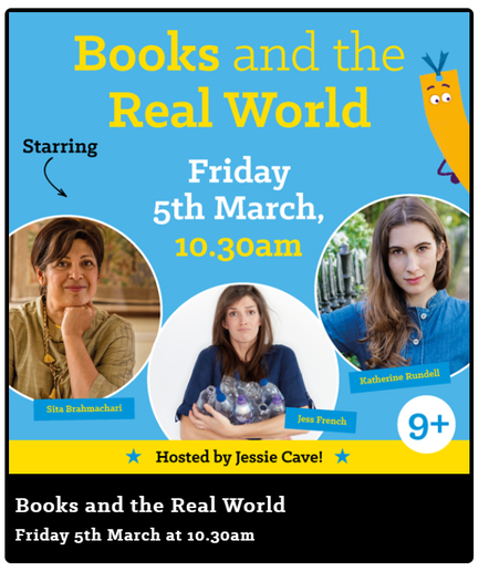 WORLD BOOK DAY LIVE EVENT FRIDAY AT 10.30