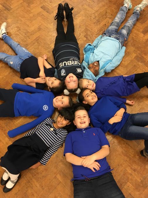 Go Blue for International Children's Day