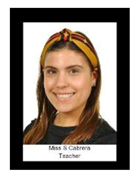 Miss Cabrera