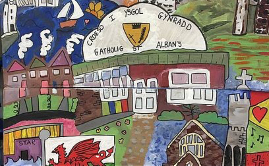 We love to see the annual Eisteddfod art.