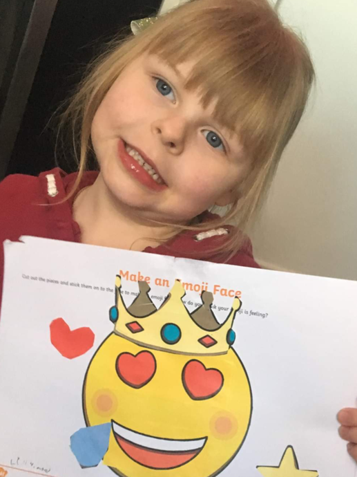 Looking very proud of your picture!