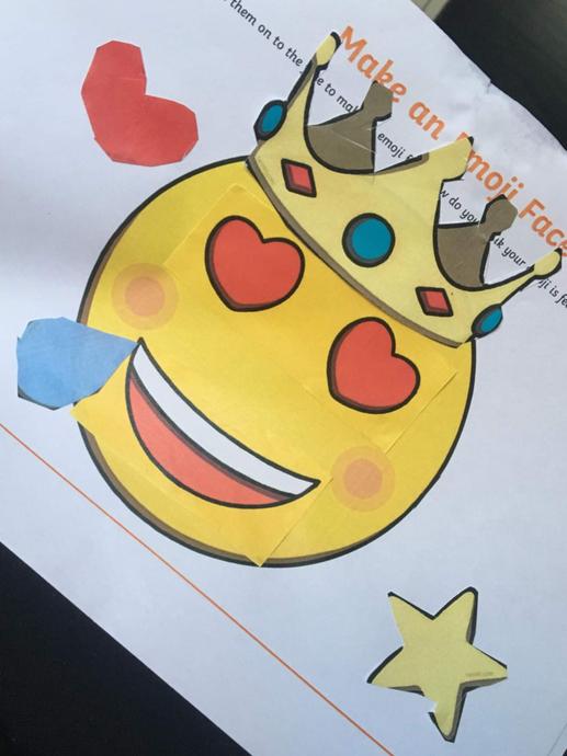 A great emoji face!