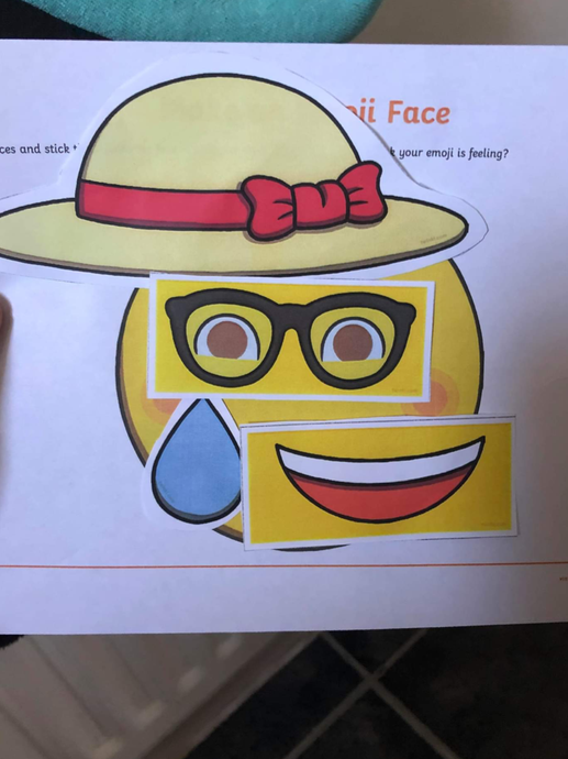 What a great emoji face!