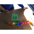 threading to match numerals