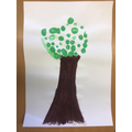 Our vision for this year is #makeadifference for everyone. This is our class tree.
