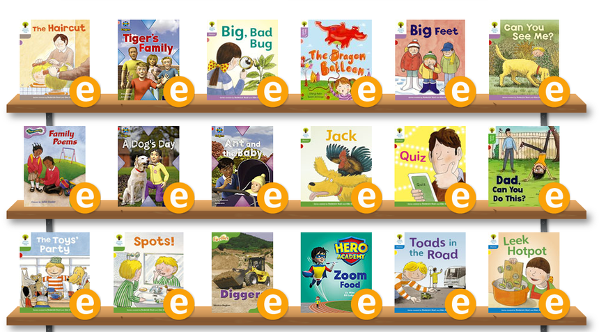 Books for 4-7 year olds.