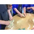 playdough making