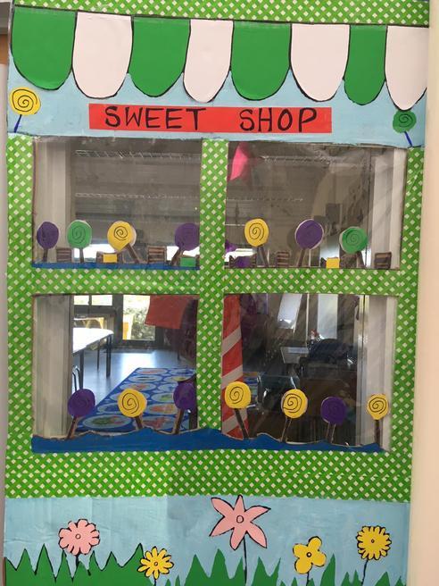 Our 'Scrumdiddlyumptious' Sweet Shop.