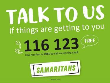 The Samaritans.