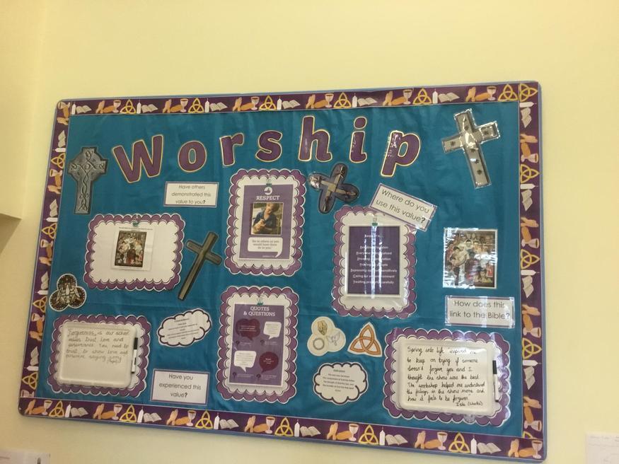 School Worship Display Summer 2019 - Respect