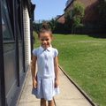 The best bit about Year 1 was seeing a new teacher!