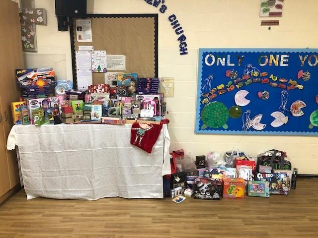 Toys donated for Wood Street Mission 2020