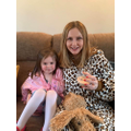 Annabelle and her 'beautiful Mummy'.
