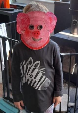 My animal mask.