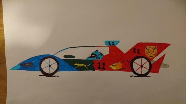 Formula E-Car