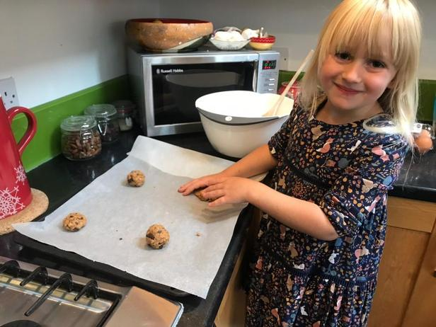 Baking Healthy Cookies