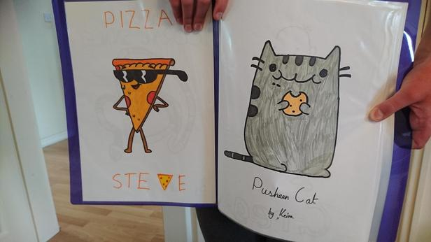 Love 'Pizza Steve' and your cookie eating cat