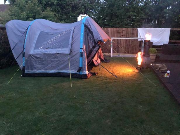 Camping Trip in the Garden