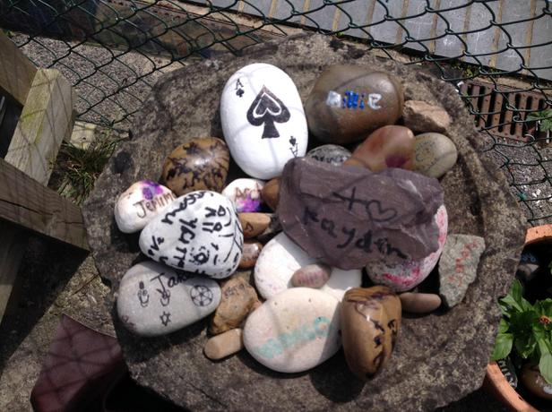 A pebble for each child in school