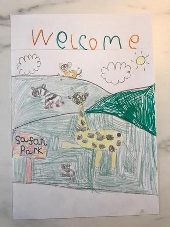 Safari Poster.