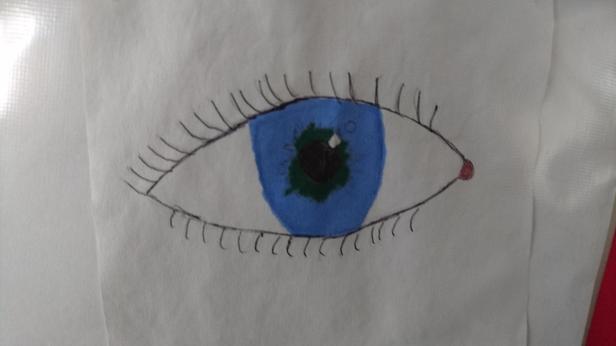 Eye spy with my little eye.......