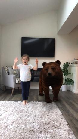 Bear in the house