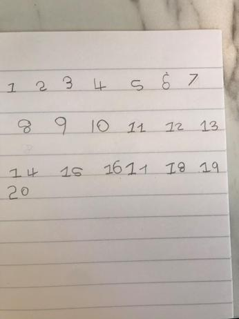 Number formation and ordering work.